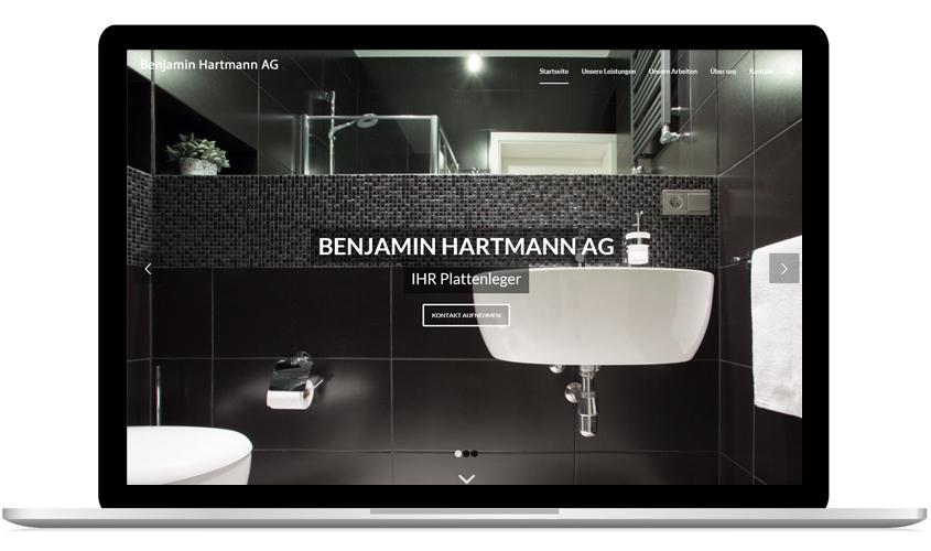 Referenzen Benjamin Hartmann AG
