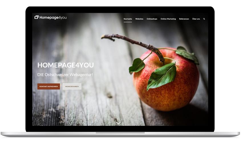 Referenzen Homepage4you